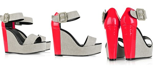 PIERRE HARDY - color block wedges