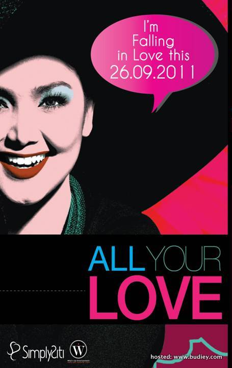 Jemputan Launching All Your Love