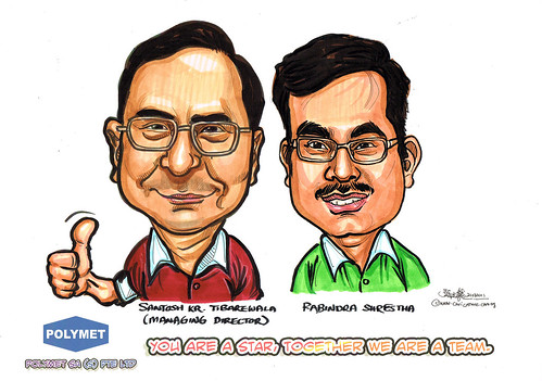 Caricatures for Polymet - 13