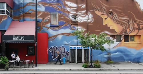 Boulevard de Maisonneuve morning mural - #267/365 by PJMixer