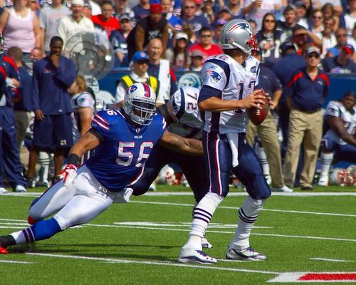 Shawne Merriman versus Tom Brady