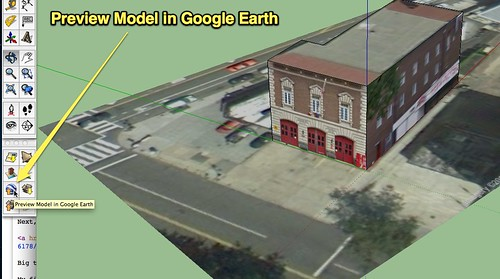 Preview Model in Google Earth
