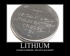 Lithium works! (dmixo6) Tags: funny motivator humor drugs demotivator prescription medication meds psych bipolar treatment lithium demotivation dugg dmixo6