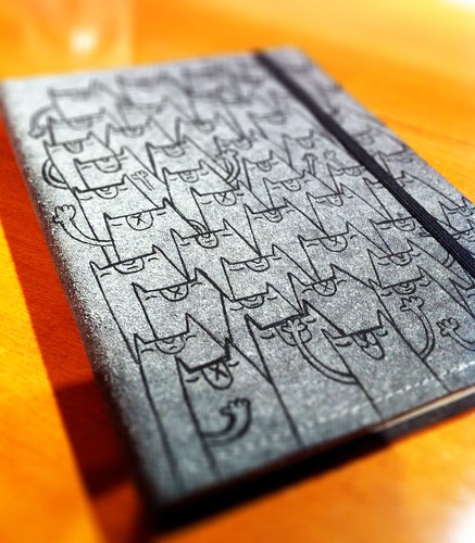 Leather sketchpad by [rich]