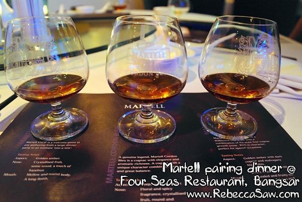 martell cognac pairing dinner