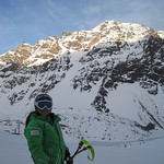 Emma King in Portillo, Chile, BC Team Training Group (Whistler Mountain Ski Club) PHOTO CREDIT: Becca Bermel