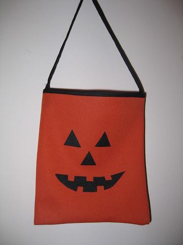 Pumpking Jack o'lantern mini bag