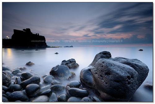 longexposure italy castle sunrise nikon italia alba sigma... (Photo: ciccioetneo on Flickr)
