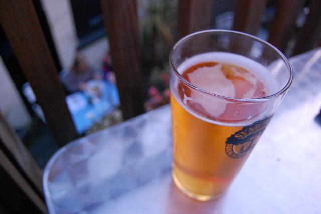 Cider at dusk