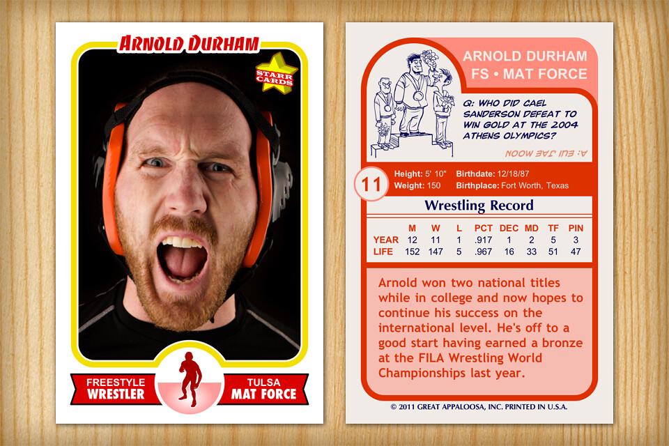 Retro 75 Custom Wrestling Card