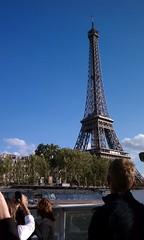 The Eiffel Tower - Paris, France (MiguelNievas) Tags: paris france tower french eiffeltower eiffel latoureiffel champdemars gustaveeiffel theironlady ladamedefer