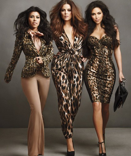 2011 Kardashian Lingerie Collection Photoshoot
