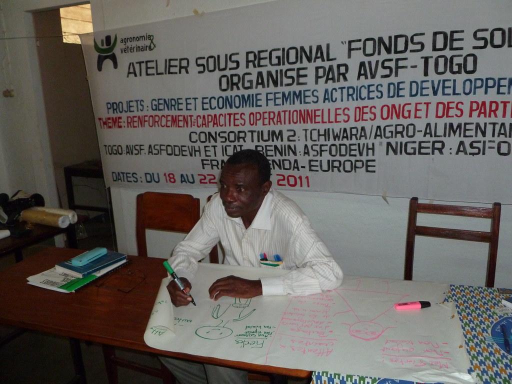 Docteur Aliti -responsable du projet FSP - Atelier GENRE Kara Togo