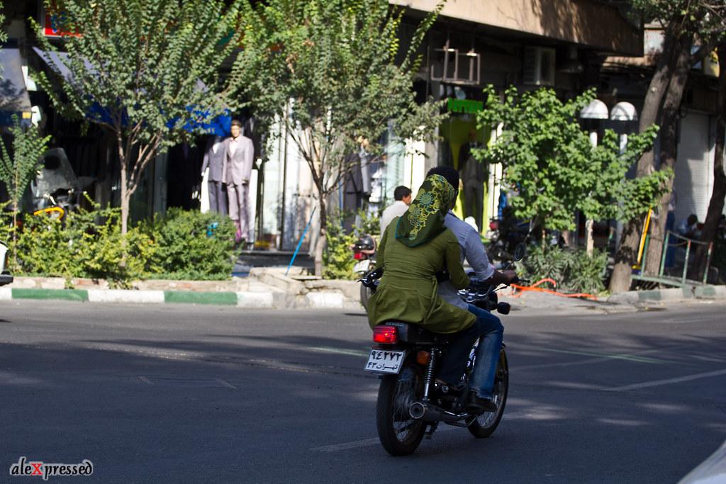 Tehran Bike ride