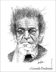 lou reed - portrait by leonardo dooderman