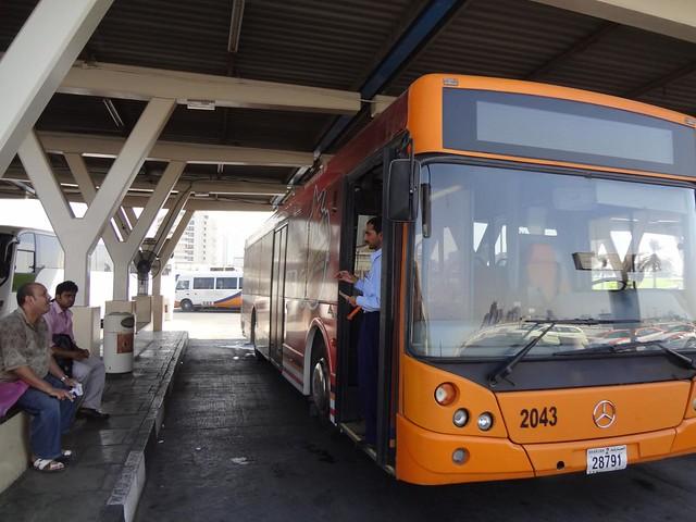 Autocarro Sharjah ate Ras Al Khaimah, Emirados Arabes Unidos