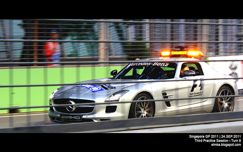 Singapore GP 2011 - F1 3rd Practice Session