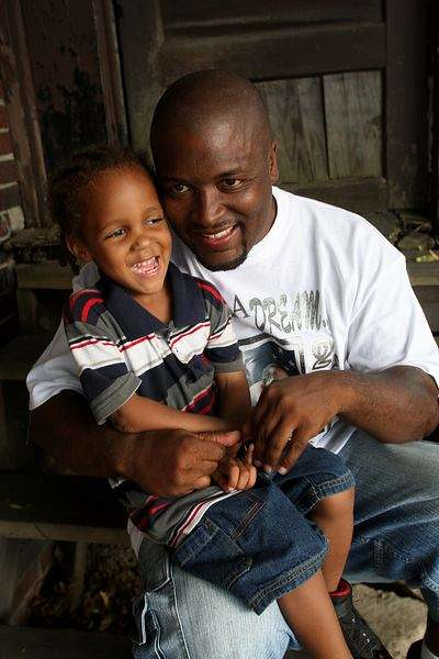 Yusef Shakur and son