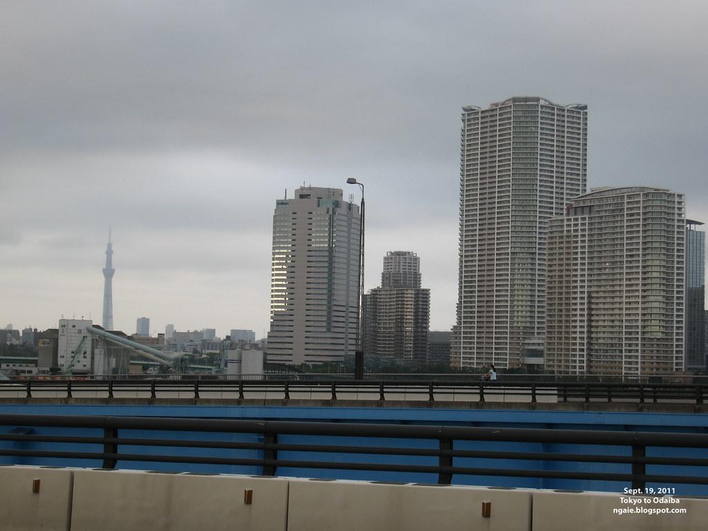 Tokyo Sky Tree from Odaiba