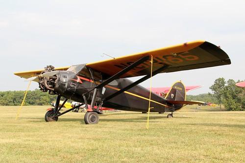antiqueaircraftassociationblakesburgiowa2011flyinairplaneaircraftflyingairport1931stinsonjrs nc12165