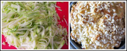 Zucchini & Sesame Muffin