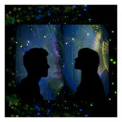 (SpencerFreeman) Tags: light shadow party summer love beauty silhouette canon star design sticks nikon diptych long exposure glow bokeh space shutter stick spencer spark freeman cangelosi miekala