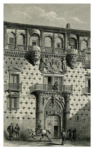 014-Fachada palacio de Guadalajara-Impressions of Spain in 1866- Mary Elizabeth Herbert