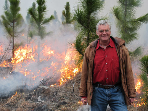 Bill Owen has completed several controlled burns on his longleaf pine stands through a burn contract with NRCS.