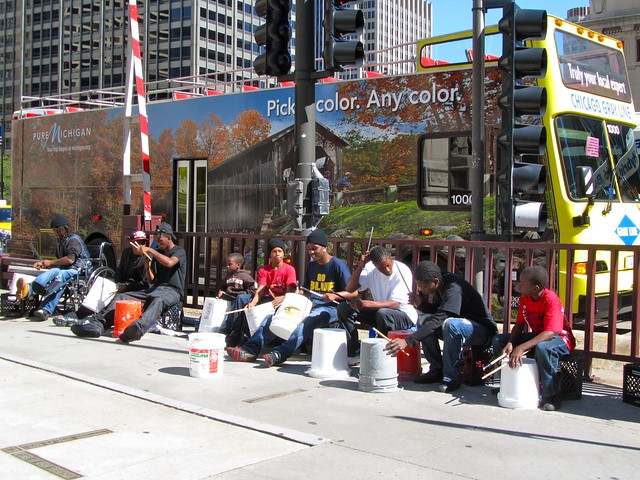 Chicago Street Performers