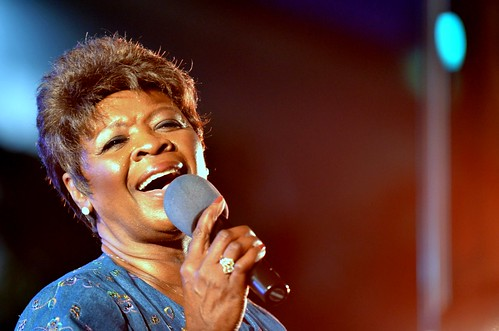 Irma Thomas and the Professionals at Harvest the Music Concert, October 5, 2011