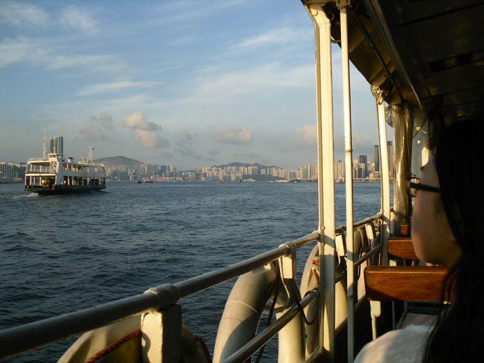 becky on star ferry