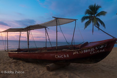 Sunset (ZUCCONY) Tags: sunset beach boat dominican republic dr lasterrenas chicha samana 2011