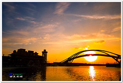 SDIM9043 ( or Jeff) Tags: ocean voyage bridge blue sunset sea sky nature water colors night clouds buildings real coast twilight place shot taiwan sigma explore   1020mm discovery  seeking scenes      nightfall afterglow  foveon landscap    x3      glimmering 18200mm    sd15