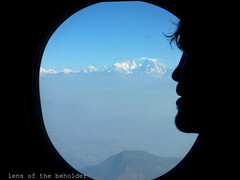 Himalaya Dreaming (lens of the beholder) Tags: nepal mountains window plane interestingness jump dreaming muse snowcapped explore himalayas pondering 550d