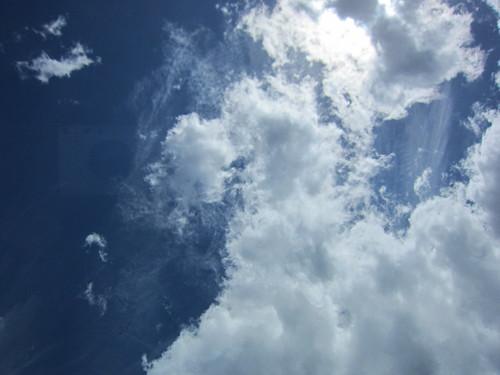 Skies overhead