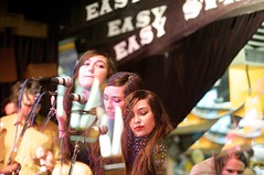 Cults | @ Easy Street Records (steve louie) Tags: seattle music live easystreetrecords shows theband cults fromnewyork freeinstoreperformance madelinefollin