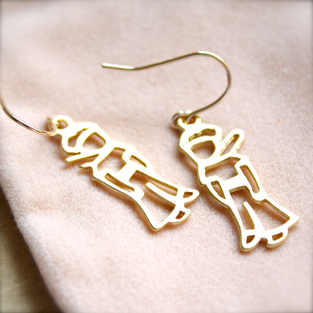 Sparkle Thots Jewellery :: The Little Prince (Earrings)