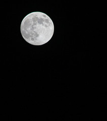 october full moon (bluewavechris) Tags: sky moon nature hawaii scenic maui crater