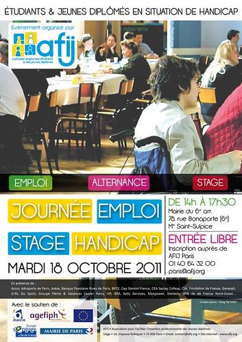 JOURNEE EMPLOI STAGE HANDICAP (JESH) pour les étudiants et les jeunes diplômés en situation de handicap