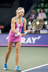 Maria Kirilenko - Before the Service