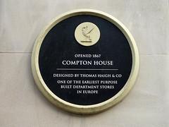 Photo of Black plaque number 7923