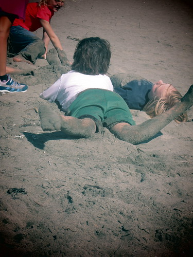 sand or sawdust