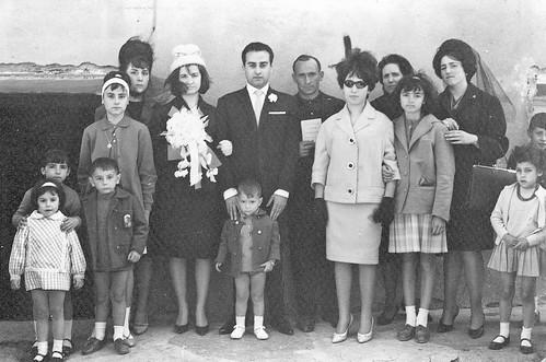 Boda de Vicente Juan y Maria Santacruz.