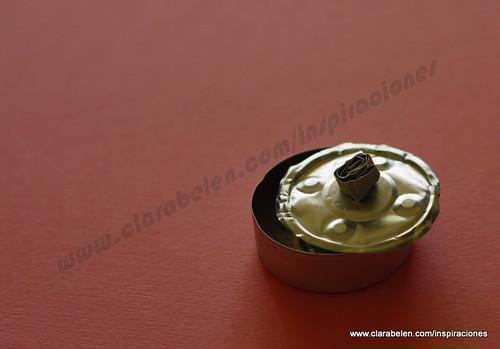 Cómo hacer cajitas con portavelas o cápsulas de velas gastadas