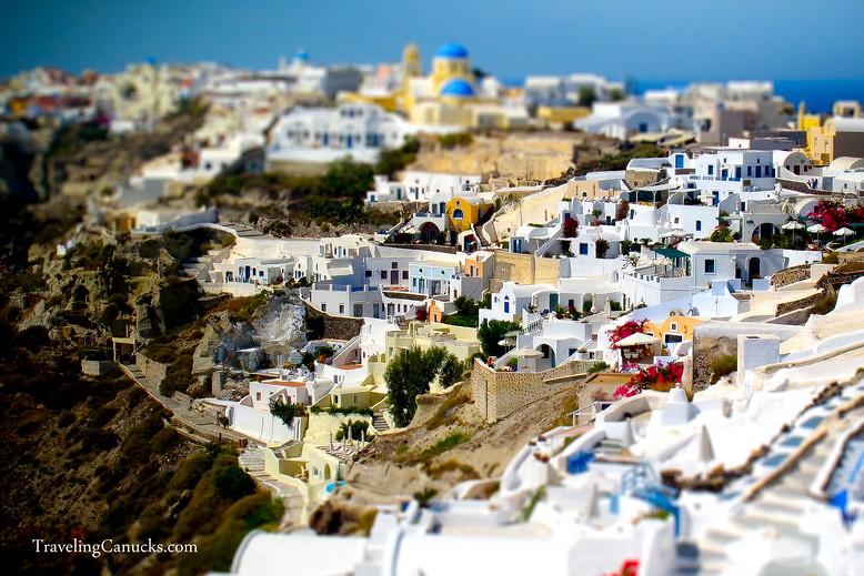 Santorini Greece Miniature