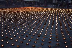 Stockholm, Kungsträdgården (Arian Zwegers) Tags: stockholm sweden candle candlelight candlelights lights kungsträdgården pinkribbon 2008 manifestation kingsgarden park kungsan
