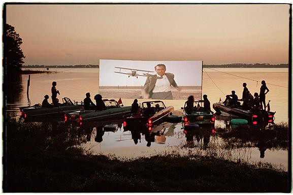 floating drive-in 2005