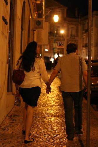 lisbon - holding hands