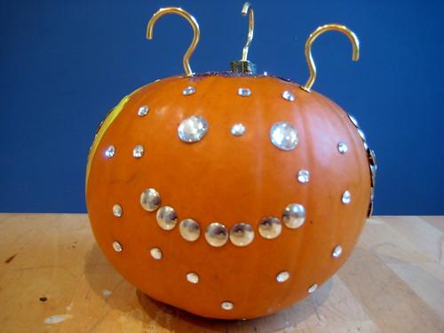 pumpkin decorating with children