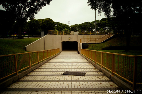 Underpass at old alignment of Kg San Teng?